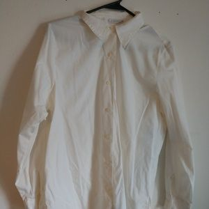 Off white Button up shirt in size 10